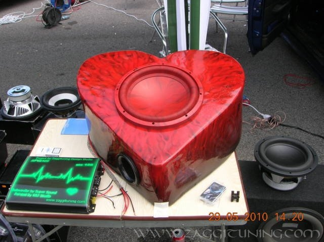Heart Bass Box